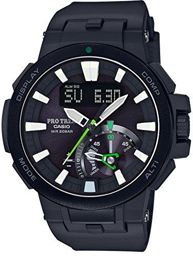 カシオ CASIO 腕時計 PROTREK 世界6局対応電波ソーラー PRW-7000-1AJF メンズの商品画像