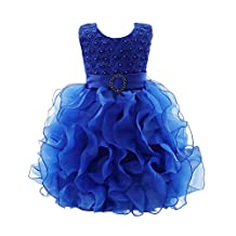 Jlong Baby Girl Flower Princess Dress Wedding Bridesmaid Party Pageant Dresses