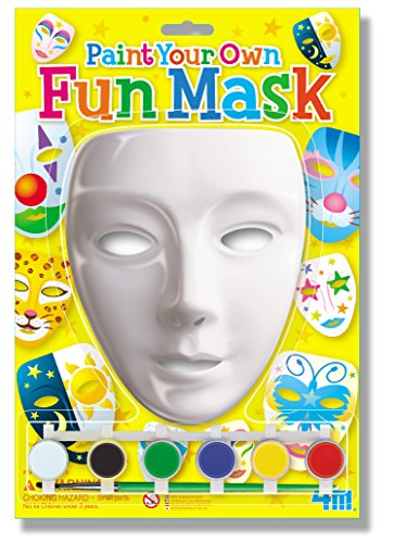 Own Mask Kit - 4M Paint Your Own Mask Kit