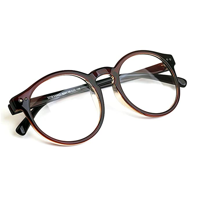 1920s Vintage Oliver rétro lunettes rondes 8241 Brown cadres Classic Eyewear JYC4QoK5W