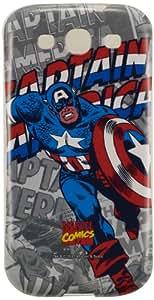 Anymode Marvel Comics Captain America Hard Case - Samsung Galaxy S III I9300 - MCHD128KA6