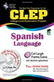 CLEP Spanish : The College Level Examination Program Exam, Goldman, Lisa and J., Lisa, 0878912215