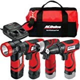 ACDelco ARZ8CSP1 Li-ion 8-Volt 4-in-1 Drill/impact/light Combo, 2 - Best Reviews Guide