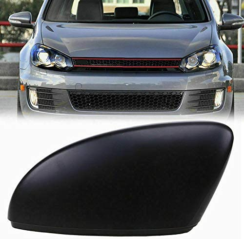 Amazon Com Tuning Store F354 Fit For Vw Touran Golf Gti Mk6 Left Side Rearview Mirror Cap Casing Black Quality Accessories For Motorcycle Car Tuning Home Kitchen