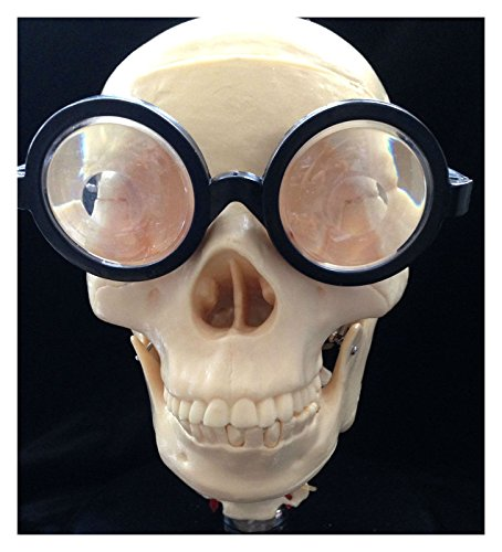 Essentials For A Nerd Costume (Funny MAGNIFYING GEEK GLASSES--Nerd Professor Cosplay Accessory-trending online)