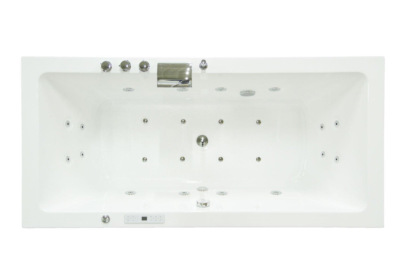 Emotion Whirlpool Unity 200 Premium (L/W/H) 200/91/61 cm UNITY20000DE