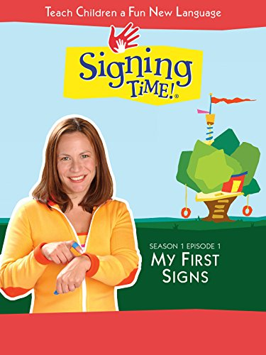 Signing Time Season 1 Episode 1: My First -