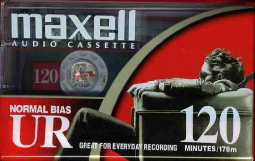 Maxell 108010 UR 120 Minute Normal Bias Audio Tape (120 Audio)