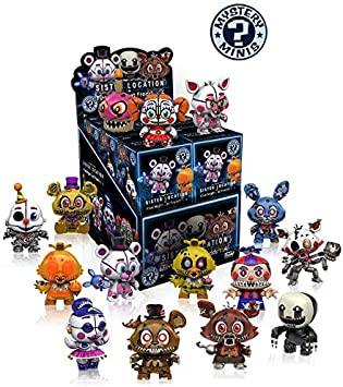 Funko Mystery Minis Five Nights at Freddys Sister Location and Five Nights at Freddys 4 - Figura, 1 figura aleatoria: Amazon.es: Juguetes y juegos