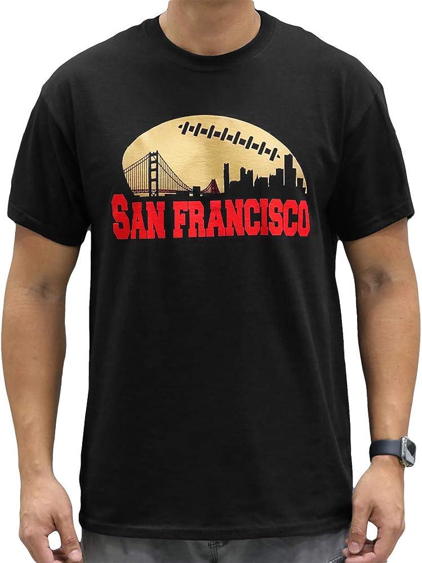 San Francisco Football Skyline Fan Shirt