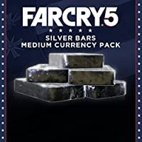 FAR CRY 5 - MEDIUM SILVER BARS ADD-ON - 1050 CREDITS - PS4 [Digital Code]