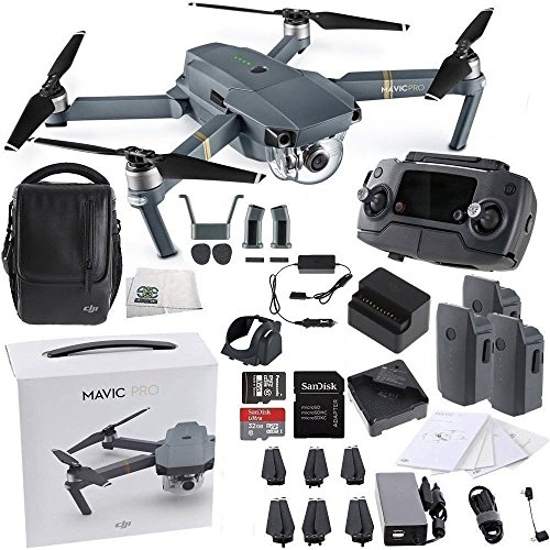 dji mavic pro fly more combo collapsible quadcopter drone. Black Bedroom Furniture Sets. Home Design Ideas