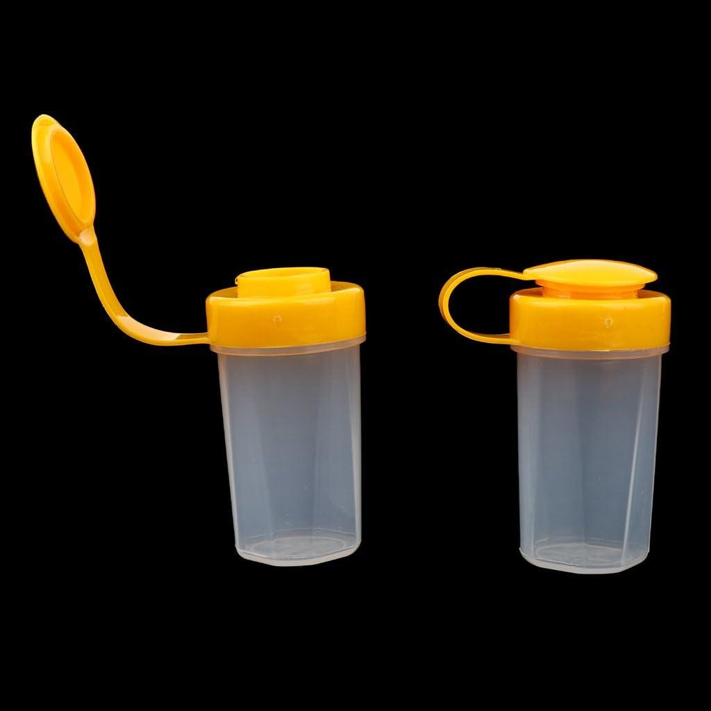 Amarillo D DOLITY Cubiertos Utensilos de Cocina de Comedor Plastic/ó para Deportista Picnic Multisuso