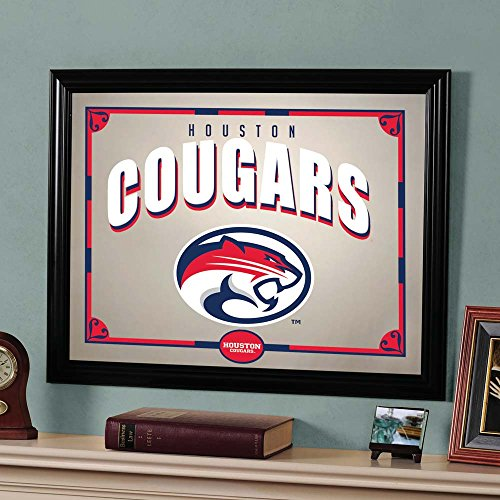 The Memory Company NCAA Houston, University of Official Mirror, Multicolor, 23 x 18 by The Memory Company