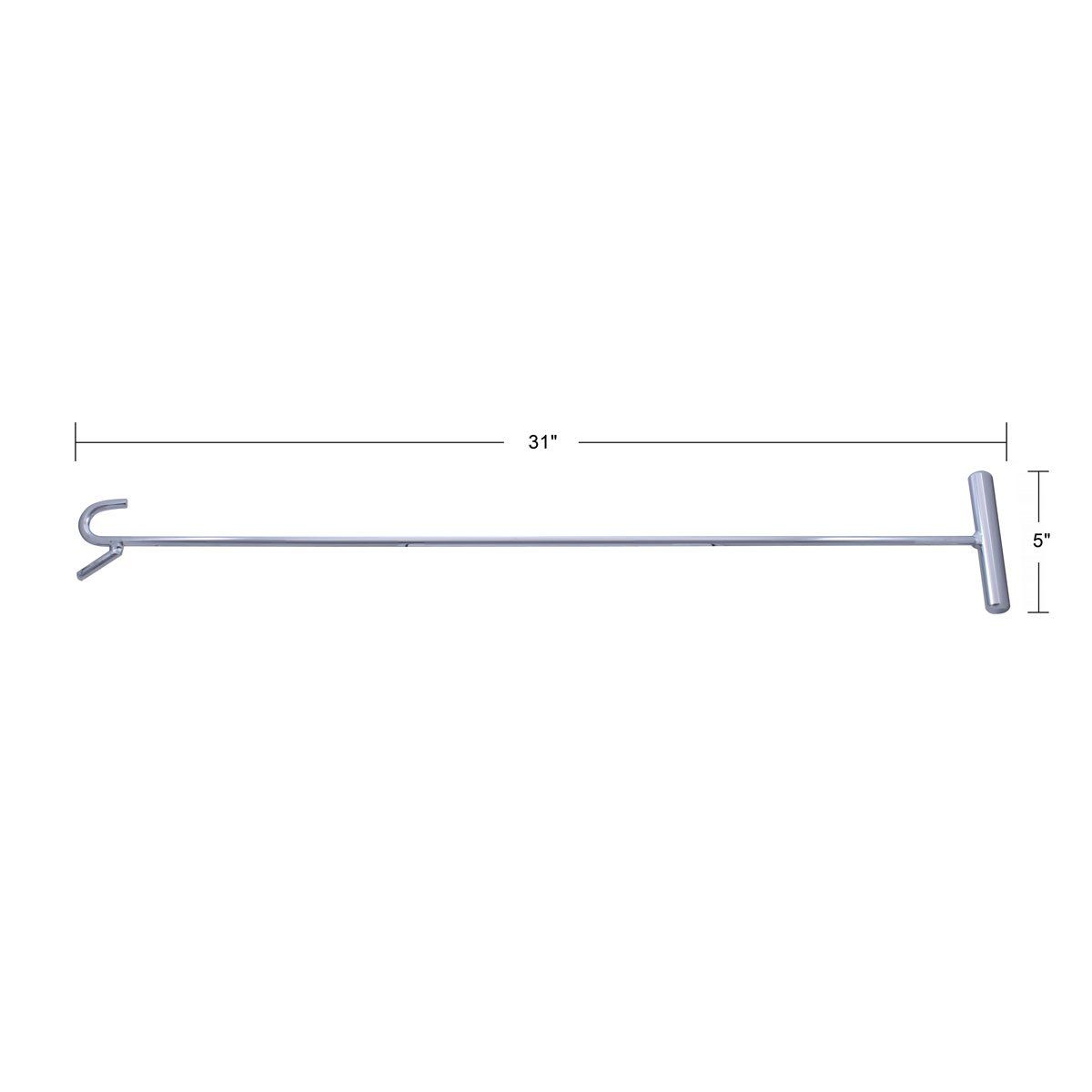 United Pacific 90010 Chrome 31 Fifth Wheel Pin Puller