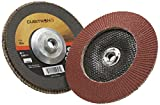 3M Cubitron II Flap Disc 967A, T27 Giant 4-1/2'' x 5/8-11, 40+ Manufacturer Grade, Y-Weight (Pack of 10)