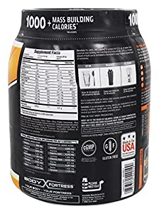Body Fortress Super Advanced Mass Gainer, Chocolate