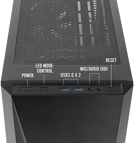 Antec DP301M Micro-torre Nero
