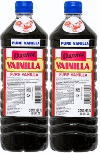 Bottle Vanilla Extract - 2 X Danncy Dark Pure Mexican Vanilla Extract From Mexico 33oz Each 2 Plastic Bottle Lot Sealed