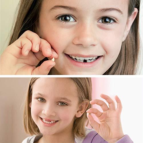 Zahnbox - Holz Kinder Andenken Organizer für Baby Milchzähne, Persönlichkeit Baby Zähne Box Zahnschoner Design für Kinder Laubzähne Sammlung (Boy)