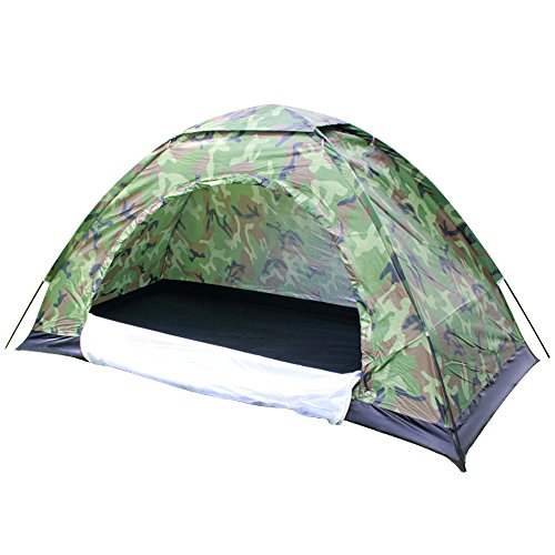 ... One-Person-Tent-Outdoor-C&ing-Tent-by-TSWA- ...  sc 1 st  C&ing Equipment u0026 Supply & One Person Tent Outdoor Camping Tent by TSWA Portable Camouflage ...