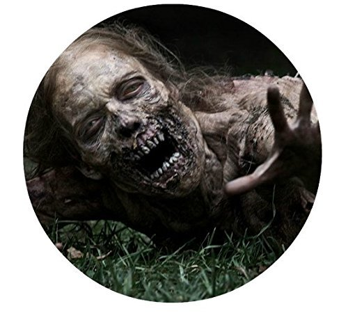 The Walking Dead Zombie TWD Edible Image Photo Cake Topper Sheet Birthday Party - 8 Inches Round - 77922 -