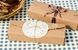 10pcs Handmade Style Kraft Paper Boxes for Candy