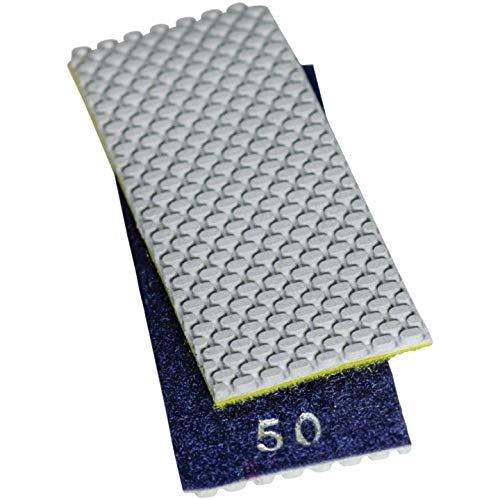 Stadea HPW110H Diamond Hand Polishing Pads Flexible for Concrete Glass Marble Stone Polishing, 7 Pads 1 Backing Pad Set by STADEA (Image #1)