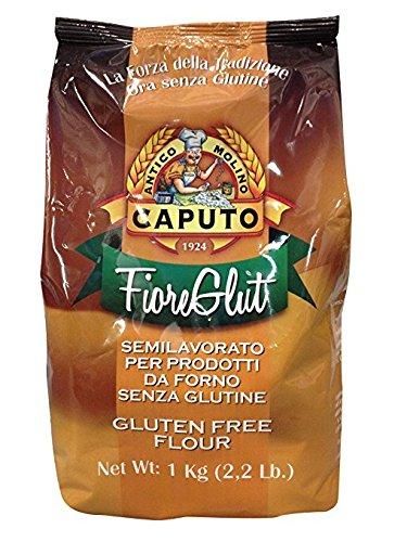 ANTIMO CAPUTO SRL Antico Caputo Fiore Glut-Gluten Free Flour Bag, 2.2 lb