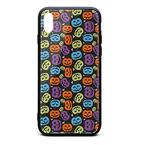 Halloween Pumpkin Faces Phone Case for iPhone Xs