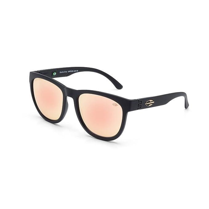 MORMAII Gafas de sol Santa Cruz, negro mate con lentes rosa  Amazon.es   Ropa y accesorios 24c581841e