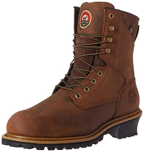 Irish Setter Work Men's Mesabi Steel Toe 83838 Boot, Brown, 10 D US