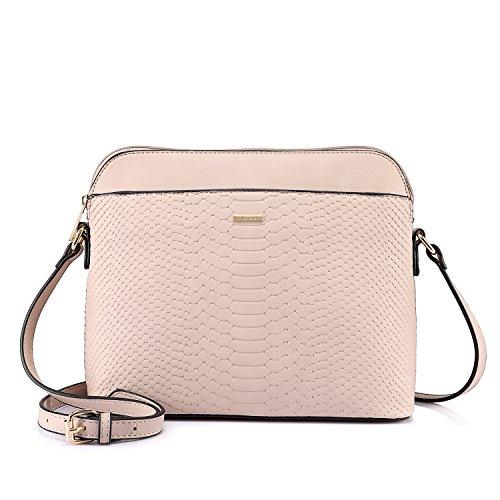 Stylish Crossbody Bags Purses Shoulder Bag for Women in Contrast Design