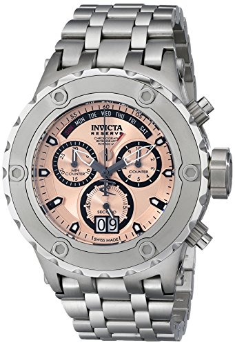 Invicta Men's 17662 Subaqua Analog Display Swiss Quartz Silver Watch