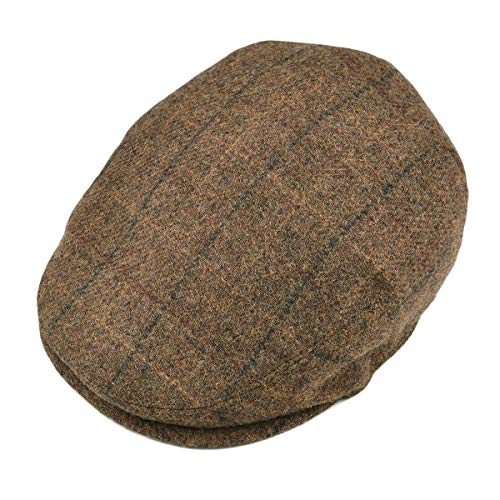 4858f9d36b1 Jual BOTVELA Men s 100% Wool Flat Cap Classic Irish Ivy Newsboy Hat ...