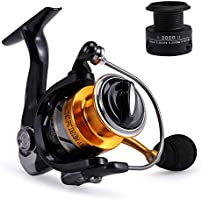 Gosccess Saltwater Fishing Spinning Reel,14+1BB Light Weight Ultra Smooth