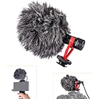 BOYA BY-MM1 Universal On-Camera Cardiod Microphone Mic Shotgun for iPhone 7 Samsung S7 Smartphone DSLR Camera Camcorder with TARION Memory SD Card Case