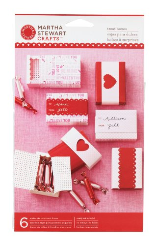 Martha Stewart Crafts Valentine's Day Mini Treat Boxes
