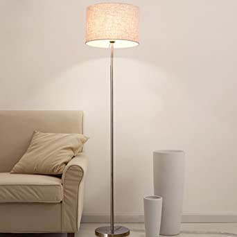 TangMengYun Moderne Eisen Stehlampe, Einfache Standard Lampe Für  Schlafzimmer Nachttischlampe Arbeitszimmer Wohnzimmer, Innenbeleuchtung Mit