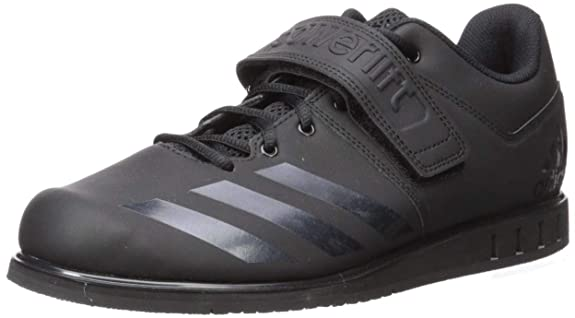 adidas Men's Powerlift.3.1 Cross Trainer, Black, 14 M US