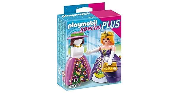 Amazon.com: Playmobil Princesa con maniquí Conjunto: Toys ...