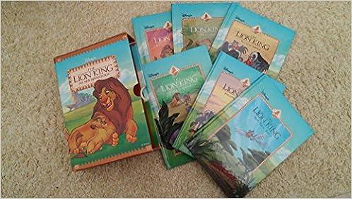 Disney S The Lion King Six New Adventures 6 Book Box Set Disney Box Set Amazon Com Books