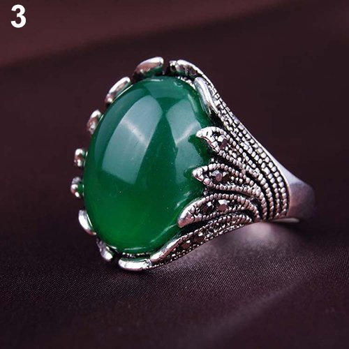 Size 8 Green Men's Women's Gold Plated Rhinestones for sale  Delivered anywhere in USA
