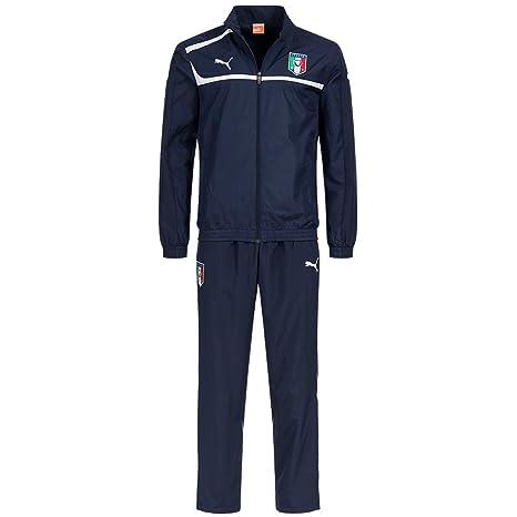 26e83318d5 Tuta Rappresentanza PUMA Italia Nazionale Woven Suit FIGC Prodotto Ufficiale