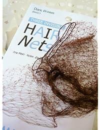 Bargain Capezio Womens Bunheads Dance Accessories Hair Nets, Fine Mesh-Nylon-Elastic Edge, DBR, OS cheapest