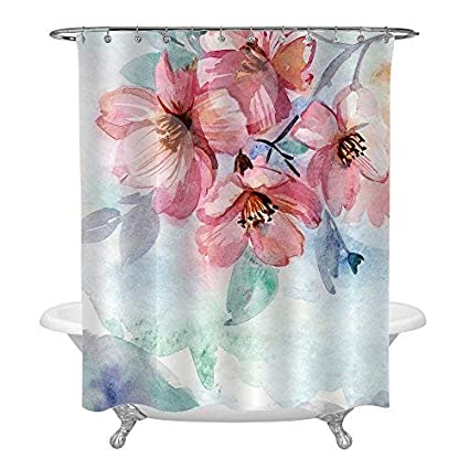 Amazon MitoVilla Gorgeous Watercolor Spring Floral Shower