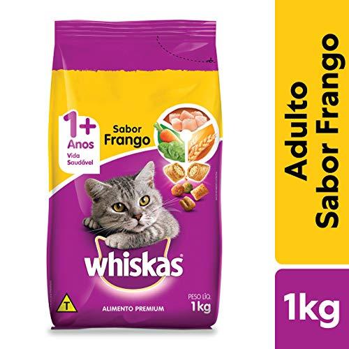 Ração Para Gatos Whiskas Frango Adultos 1kg