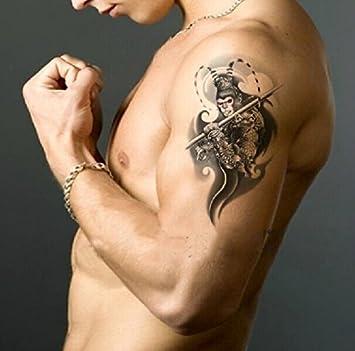 Amazon Com Gc Monkey King Traditional Temporary Tattoo Sticker For