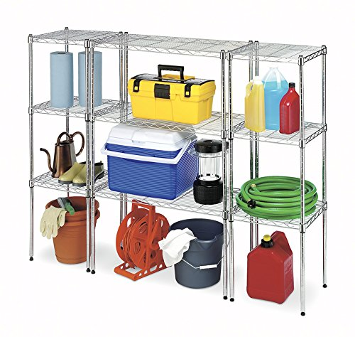 Whitmor Supreme Wide Stacking Shelf