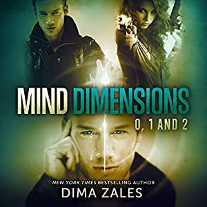 Mind Dimensions, Books 0, 1, & 2 Audiobook